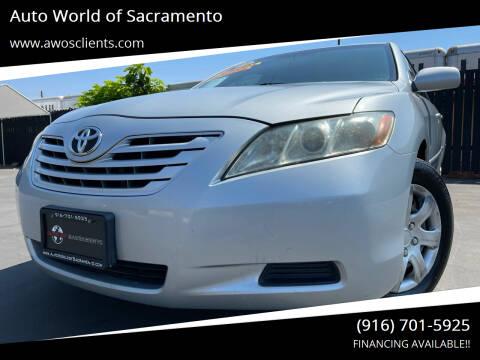 2007 Toyota Camry for sale at Auto World of Sacramento Stockton Blvd in Sacramento CA