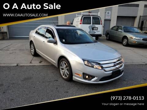 2012 Ford Fusion for sale at O A Auto Sale in Paterson NJ