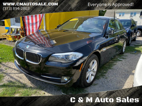 2013 BMW 5 Series for sale at C & M Auto Sales in Detroit MI