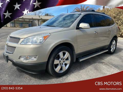2012 Chevrolet Traverse for sale at CBS MOTORS in San Antonio TX