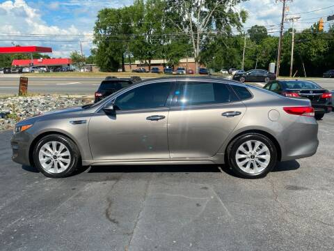 2016 Kia Optima for sale at Simple Auto Solutions LLC in Greensboro NC