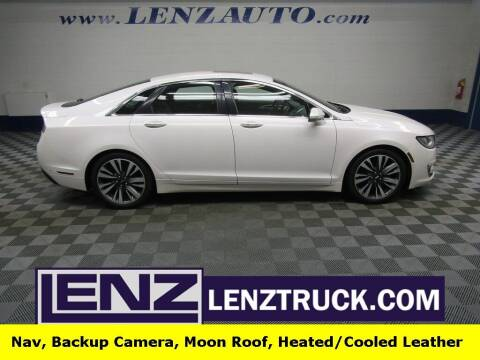 2019 Lincoln MKZ for sale at LENZ TRUCK CENTER in Fond Du Lac WI