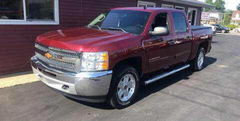 2013 Chevrolet Silverado 1500 for sale at N & J Auto Sales in Warsaw IN