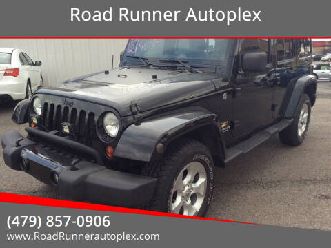 2012 Jeep Wrangler Unlimited for sale at Road Runner Autoplex in Russellville AR