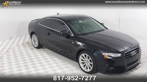 2017 Audi A5 for sale at Excellence Auto Direct in Euless TX