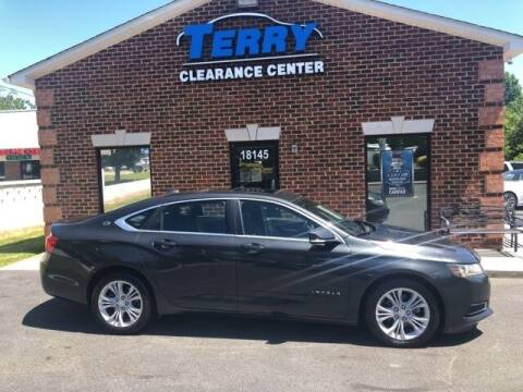 2014 Chevrolet Impala for sale at Terry Clearance Center in Lynchburg VA
