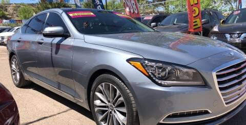 2015 Hyundai Genesis for sale at Duke City Auto LLC in Gallup NM