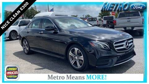 2017 Mercedes-Benz E-Class for sale at Your First Vehicle in Miami FL