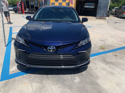 2021 Toyota Camry for sale at Dulux Auto Sales Inc & Car Rental in Hollywood FL