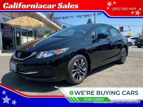 2014 Honda Civic for sale at Californiacar Sales in Santa Maria CA