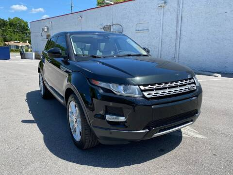 2015 Land Rover Range Rover Evoque for sale at Consumer Auto Credit in Tampa FL