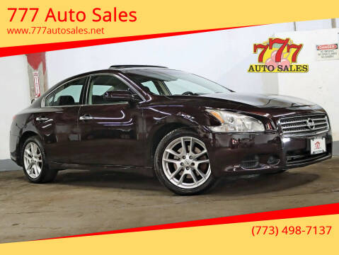 2010 Nissan Maxima for sale at 777 Auto Sales in Bedford Park IL