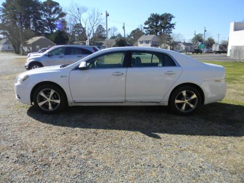 2009 Chevrolet Malibu Hybrid for sale at SeaCrest Sales, LLC in Elizabeth City NC