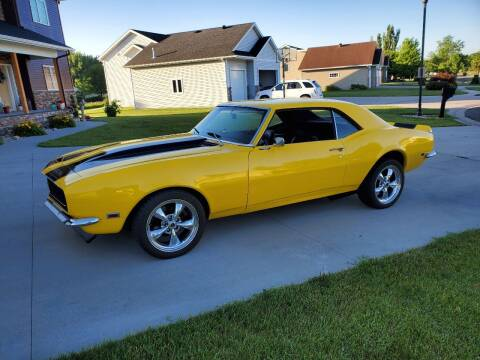 1968 Chevrolet Camaro for sale at GOOD NEWS AUTO SALES in Fargo ND