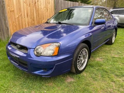 2004 Subaru Impreza for sale at ALL Motor Cars LTD in Tillson NY