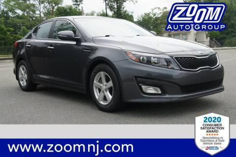 2015 Kia Optima for sale at Zoom Auto Group in Parsippany NJ