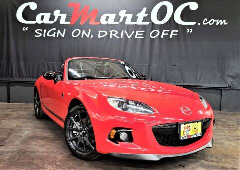 2013 Mazda MX-5 Miata for sale at CarMart OC in Costa Mesa, Orange County CA