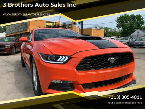 2015 Ford Mustang for sale at 3 Brothers Auto Sales Inc in Detroit MI