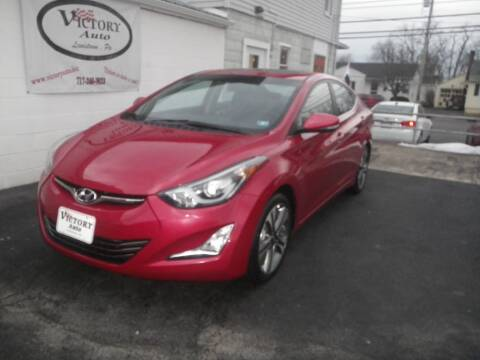 2014 Hyundai Elantra for sale at VICTORY AUTO in Lewistown PA
