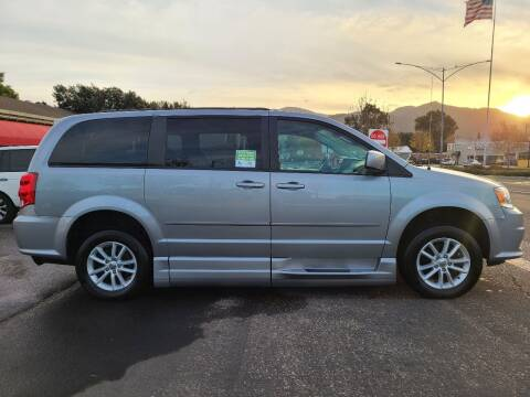 2015 Dodge Grand Caravan for sale at Coast Auto Sales in Buellton CA