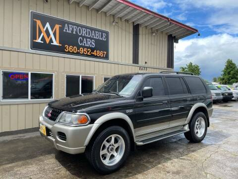 2001 Mitsubishi Montero Sport for sale at M & A Affordable Cars in Vancouver WA