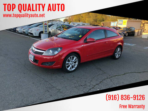 2008 Saturn Astra for sale at TOP QUALITY AUTO in Rancho Cordova CA