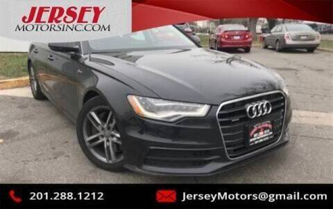 2012 Audi A6 for sale at JerseyMotorsInc.com in Teterboro NJ