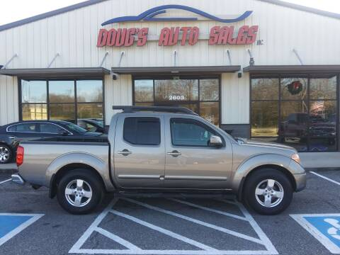 2006 Nissan Frontier for sale at DOUG'S AUTO SALES INC in Pleasant View TN