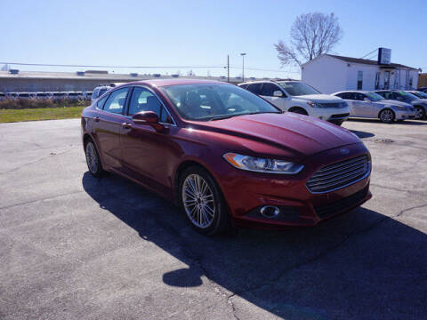 2014 Ford Fusion for sale at BLUE RIBBON MOTORS in Baton Rouge LA