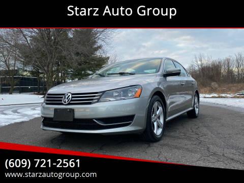 2013 Volkswagen Passat for sale at Starz Auto Group in Delran NJ