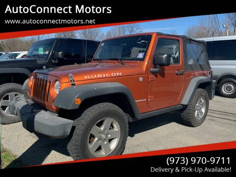2010 Jeep Wrangler for sale at AutoConnect Motors in Kenvil NJ