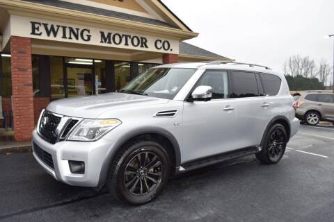 2018 Nissan Armada for sale at Ewing Motor Company in Buford GA