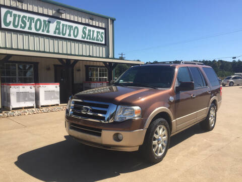 2012 Ford Expedition for sale at Custom Auto Sales - AUTOS in Longview TX