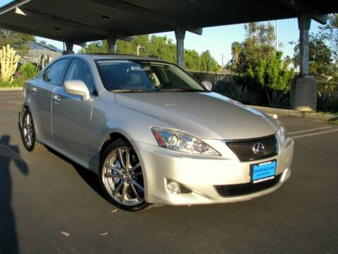 2008 Lexus IS 350 for sale at Used Cars Los Angeles in Los Angeles CA