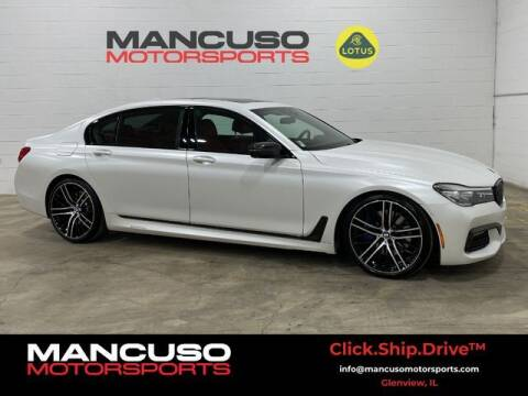2017 BMW 7 Series for sale at Mancuso Motorsports in Glenview IL