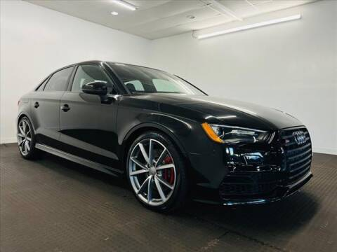 2016 Audi S3 for sale at Champagne Motor Car Company in Willimantic CT
