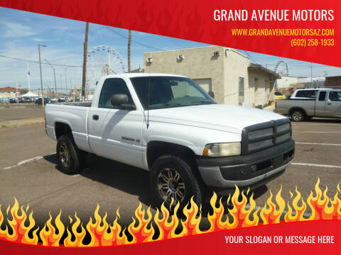 1998 Dodge Ram Pickup 1500 for sale at Grand Avenue Motors in Phoenix AZ