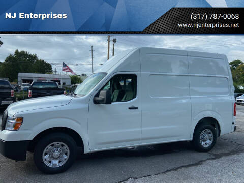 2018 Nissan NV Cargo for sale at NJ Enterprises in Indianapolis IN