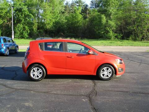 2012 Chevrolet Sonic for sale at Plainfield Auto Sales, LLC in Plainfield WI