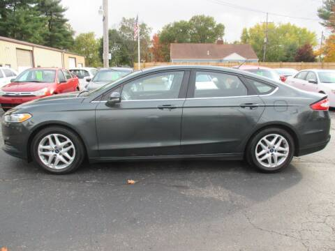 2015 Ford Fusion for sale at Home Street Auto Sales in Mishawaka IN