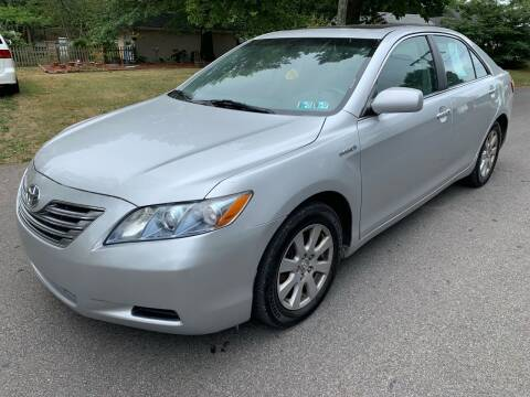 2008 Toyota Camry Hybrid for sale at Via Roma Auto Sales in Columbus OH