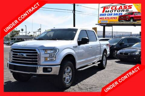 2017 Ford F-150 for sale at 1st Class Motors in Phoenix AZ