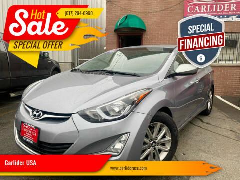 2016 Hyundai Elantra for sale at Carlider USA in Everett MA