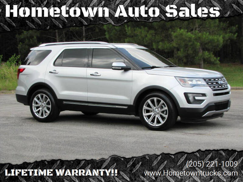 2016 Ford Explorer for sale at Hometown Auto Sales - SUVS in Jasper AL