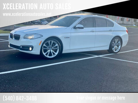2014 BMW 5 Series for sale at XCELERATION AUTO SALES in Chester VA