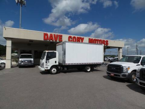 2019 Isuzu NPR HD for sale at DAVE CORY MOTORS in Houston TX