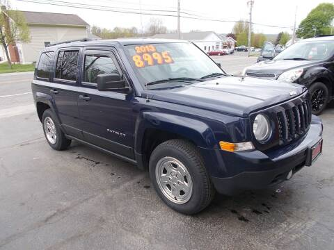 2013 Jeep Patriot for sale at Dansville Radiator in Dansville NY