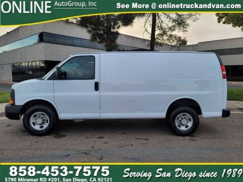 2009 Chevrolet Express Cargo for sale at Online Auto Group Inc in San Diego CA
