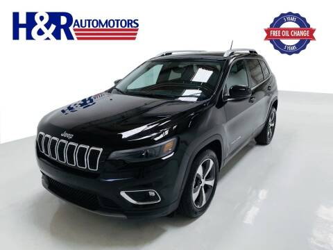 2019 Jeep Cherokee for sale at H&R Auto Motors in San Antonio TX