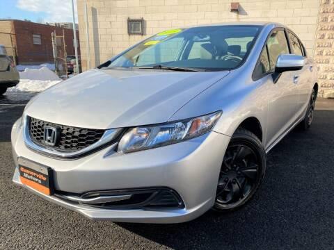 2015 Honda Civic for sale at Somerville Motors in Somerville MA